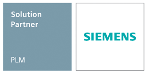 Siemens PLM Partner Emblem color horizontal for white background