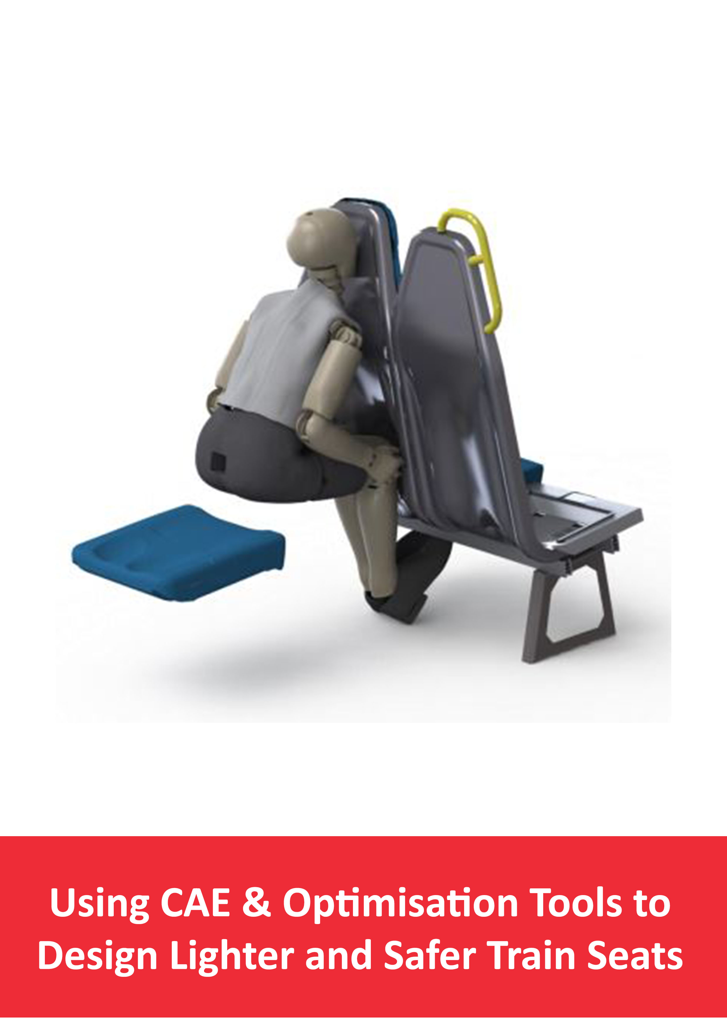 Using CAE Design Lighter Safer Train Seat Tile