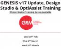 Training Dates:  GENESIS v17/Design Studio/OptiAssist